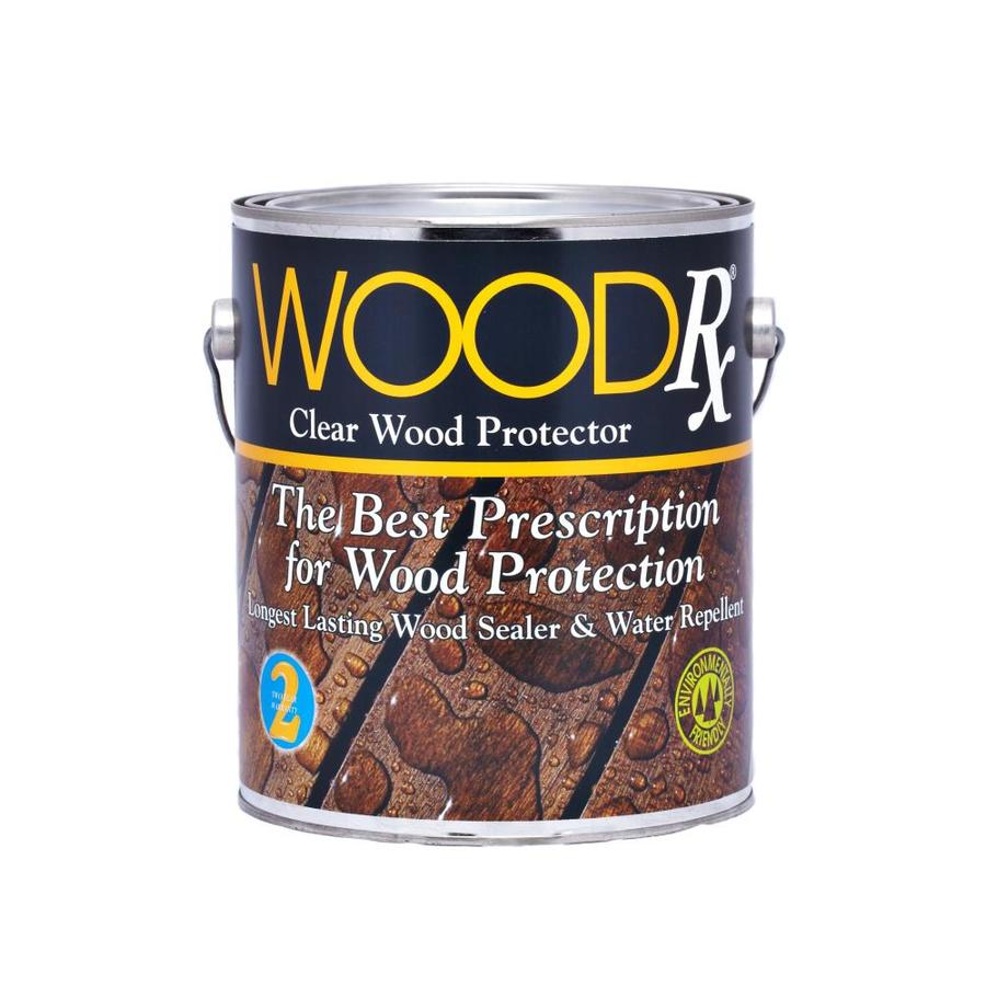 Shop Woodrx Pre Tinted Clear Exterior Stain Actual Net