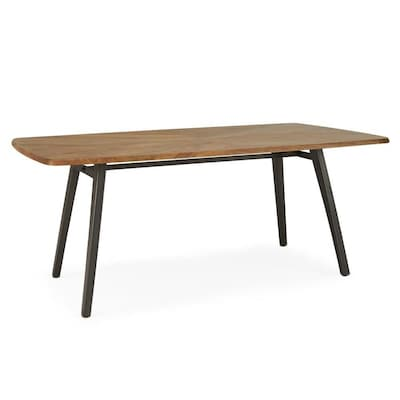 Rst Brands Rectangle Parquet 60x40 Dining Table Wood