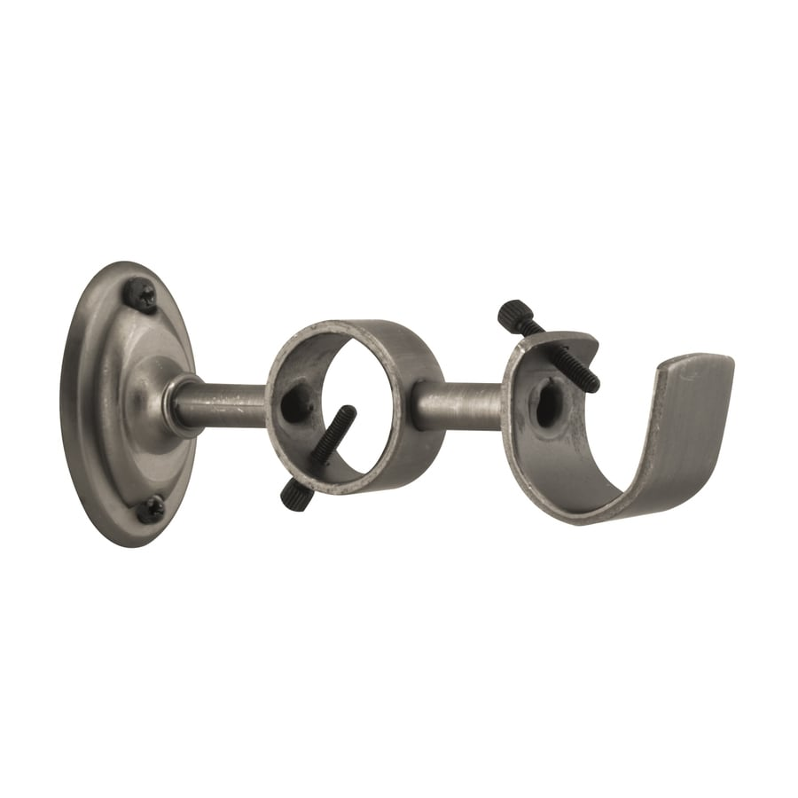 allen + roth Pewter Curtain Rod Bracket