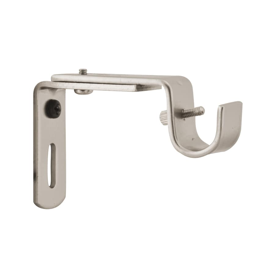 shop curtain rod brackets at lowes