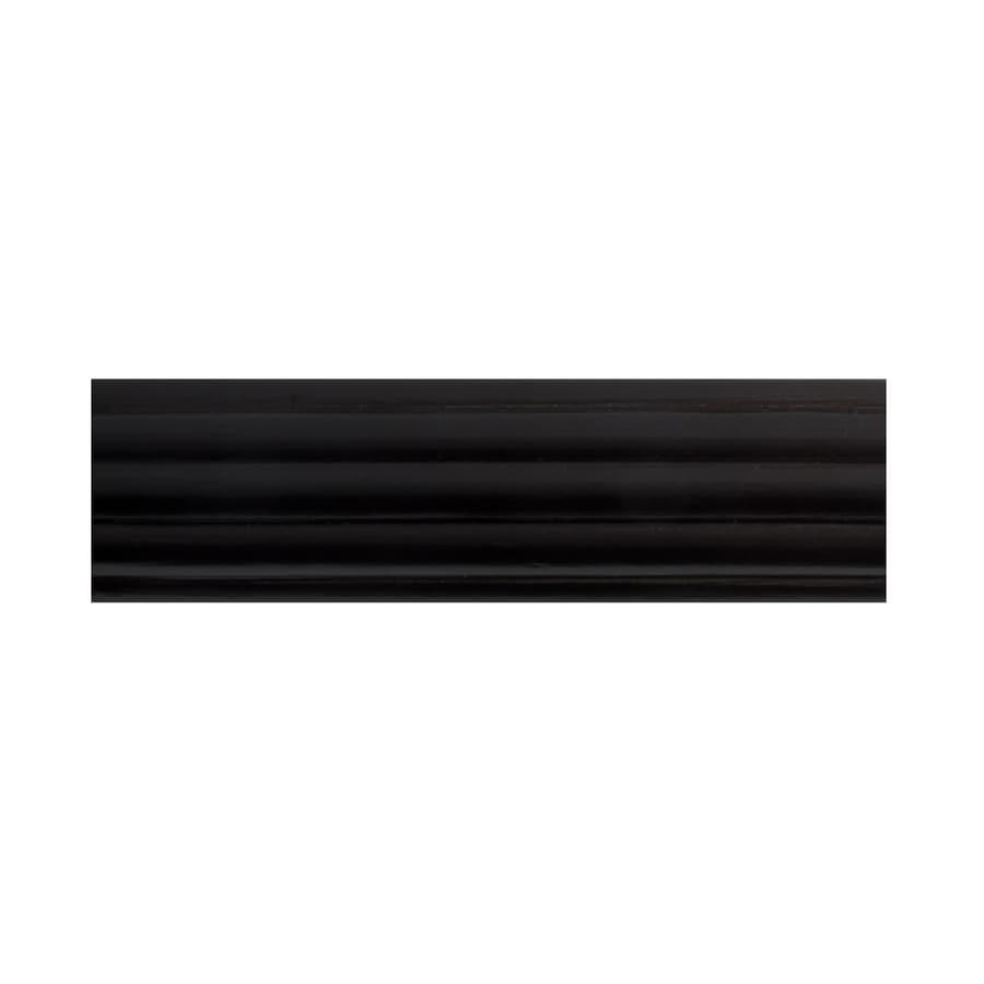 Allen Roth Mink Wood Single Curtain Rod