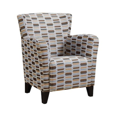 Sensational Monarch Specialties Modern Beige Accent Chair At Lowes Com Gamerscity Chair Design For Home Gamerscityorg