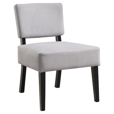 Phenomenal Monarch Specialties Modern Grey Accent Chair At Lowes Com Inzonedesignstudio Interior Chair Design Inzonedesignstudiocom