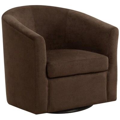 Superb Monarch Specialties Modern Brown Accent Chair At Lowes Com Inzonedesignstudio Interior Chair Design Inzonedesignstudiocom