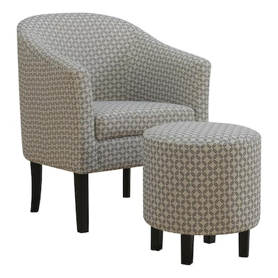 Astounding Monarch Specialties Accent Chair 2Pcs Set Dark Grey Pdpeps Interior Chair Design Pdpepsorg