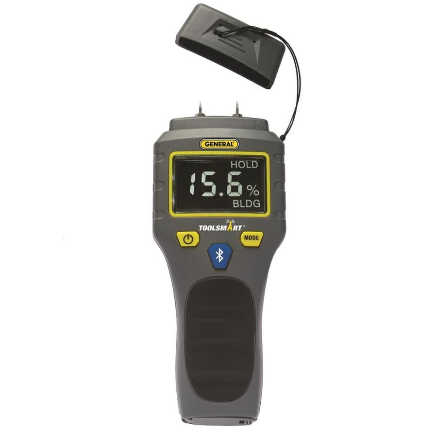 General Tools Instruments Toolsmart Bluetooth Connected Digital Moisture Meter