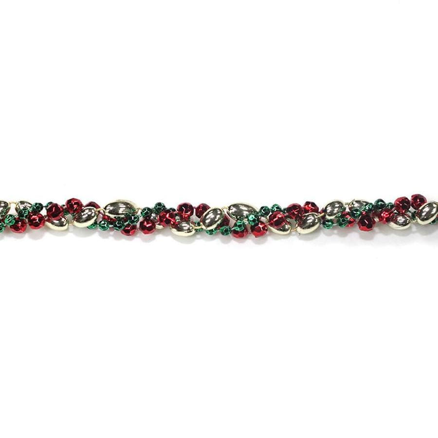 Holiday Living Indoor 8-ft L Beaded Garland Lights