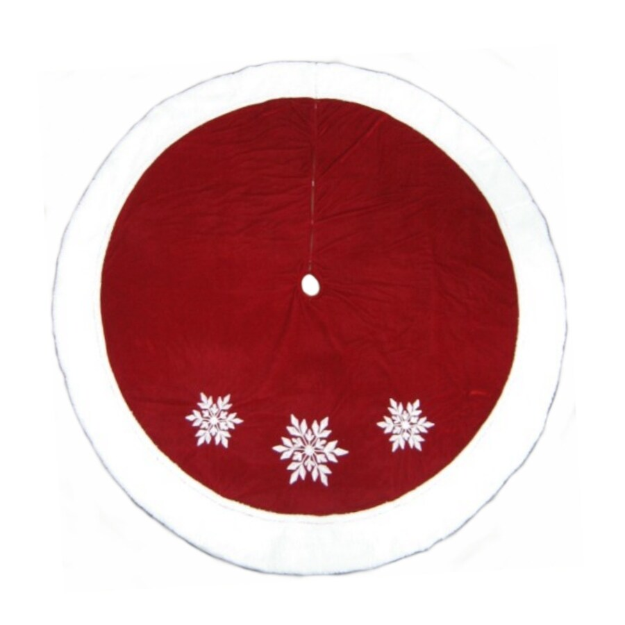 Shop Holiday Living 72-in Christmas Tree Skirt at Lowes.com