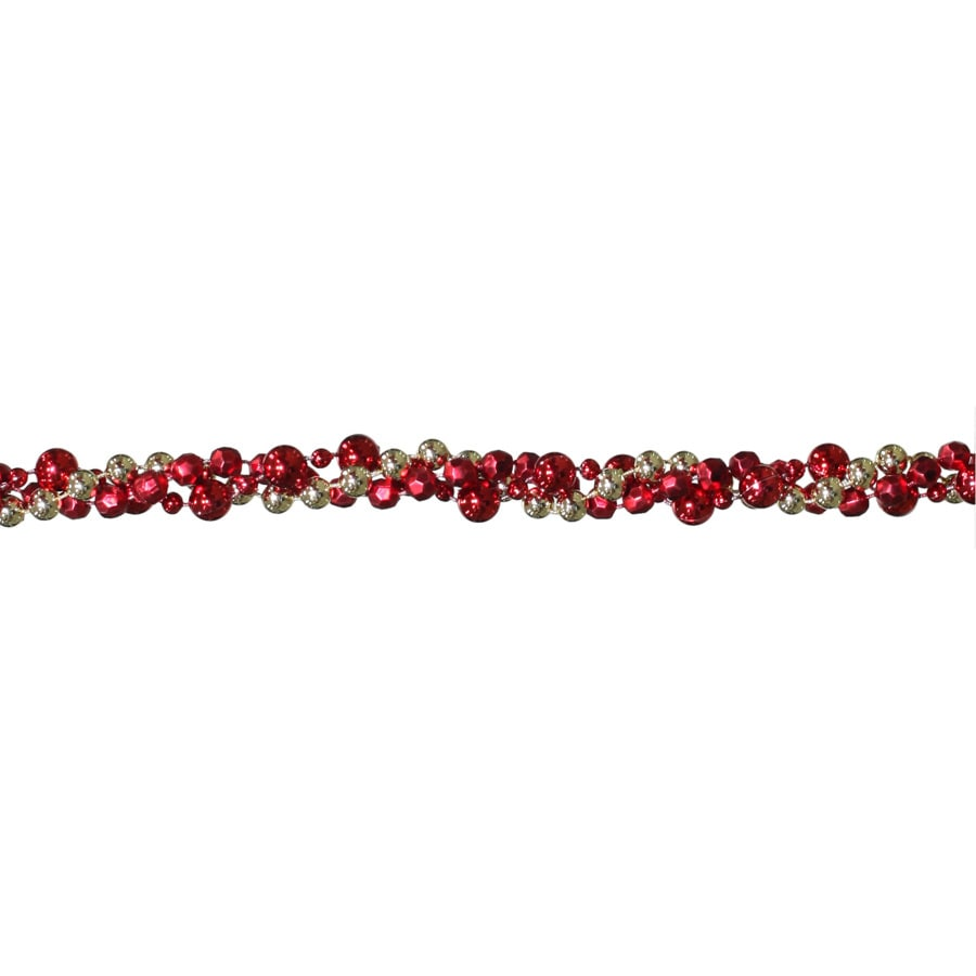 Holiday Living 8-ft L Beaded Garland