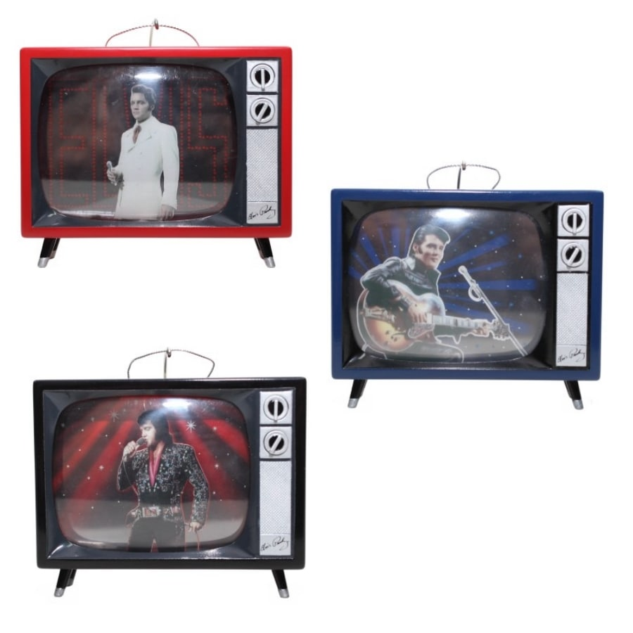 ELVIS Multicolored Musical Ornament Lights
