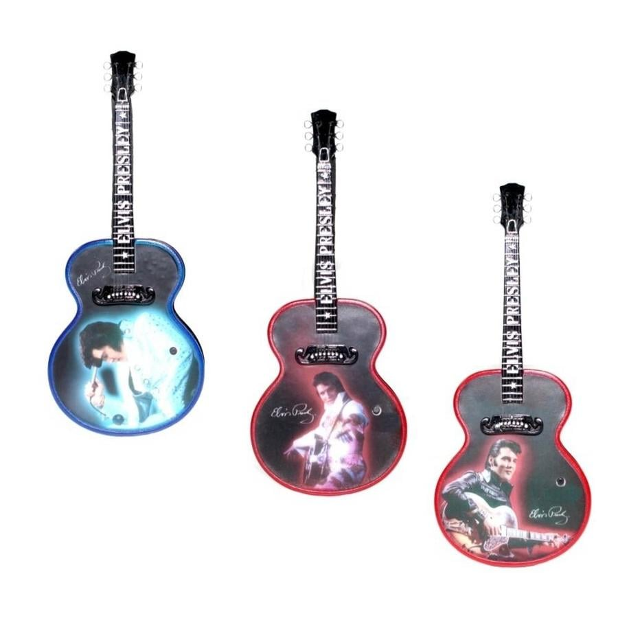 ELVIS Multi Colored Plastic Musical Ornament Color Changing LED lights