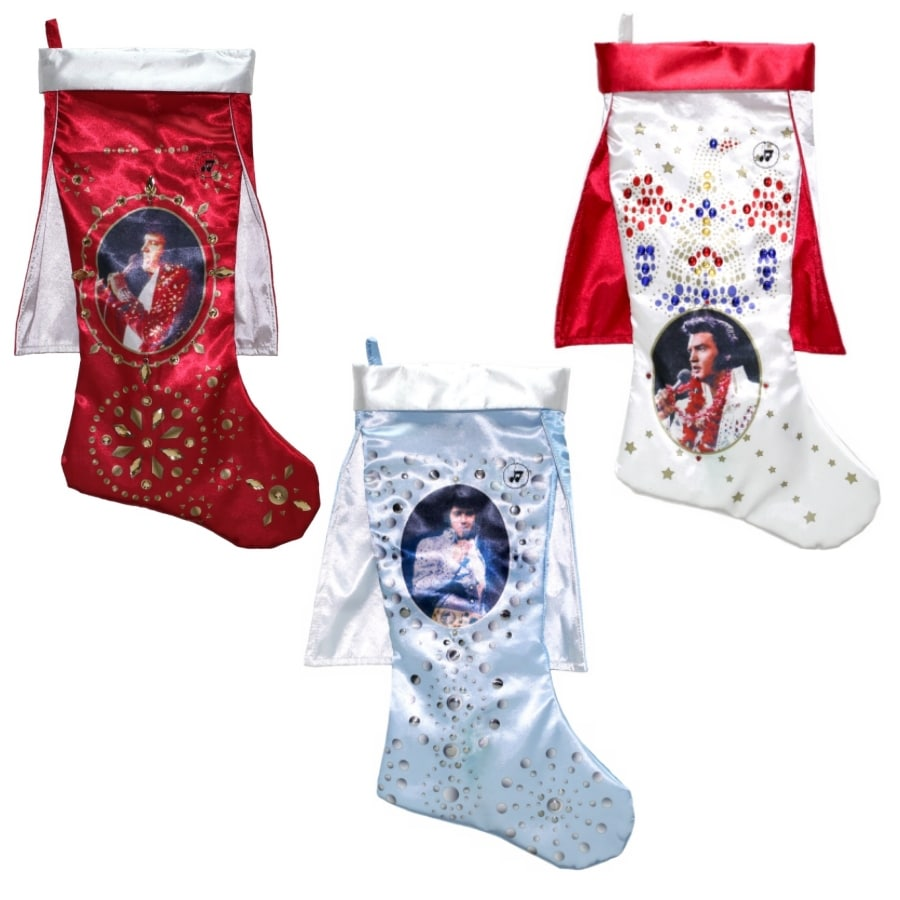 ELVIS 20-in Christmas Stocking