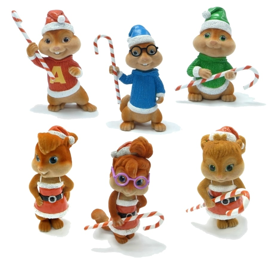 Alvin and The Chipmunks Multicolored Ornament Lights