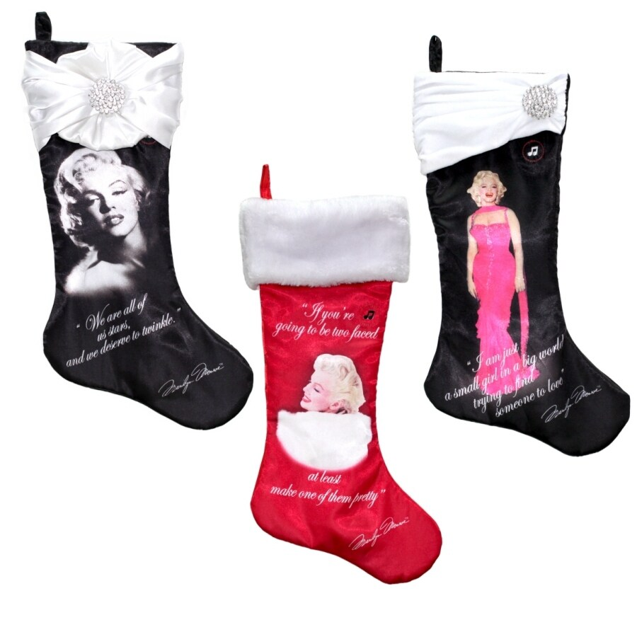 Marilyn Monroe 19-in Christmas Stocking
