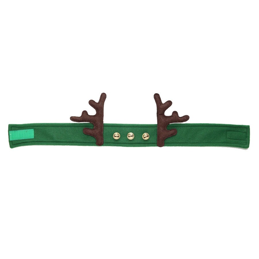 Holiday Living One Size Fits All Velvet Traditional Reindeer Hat