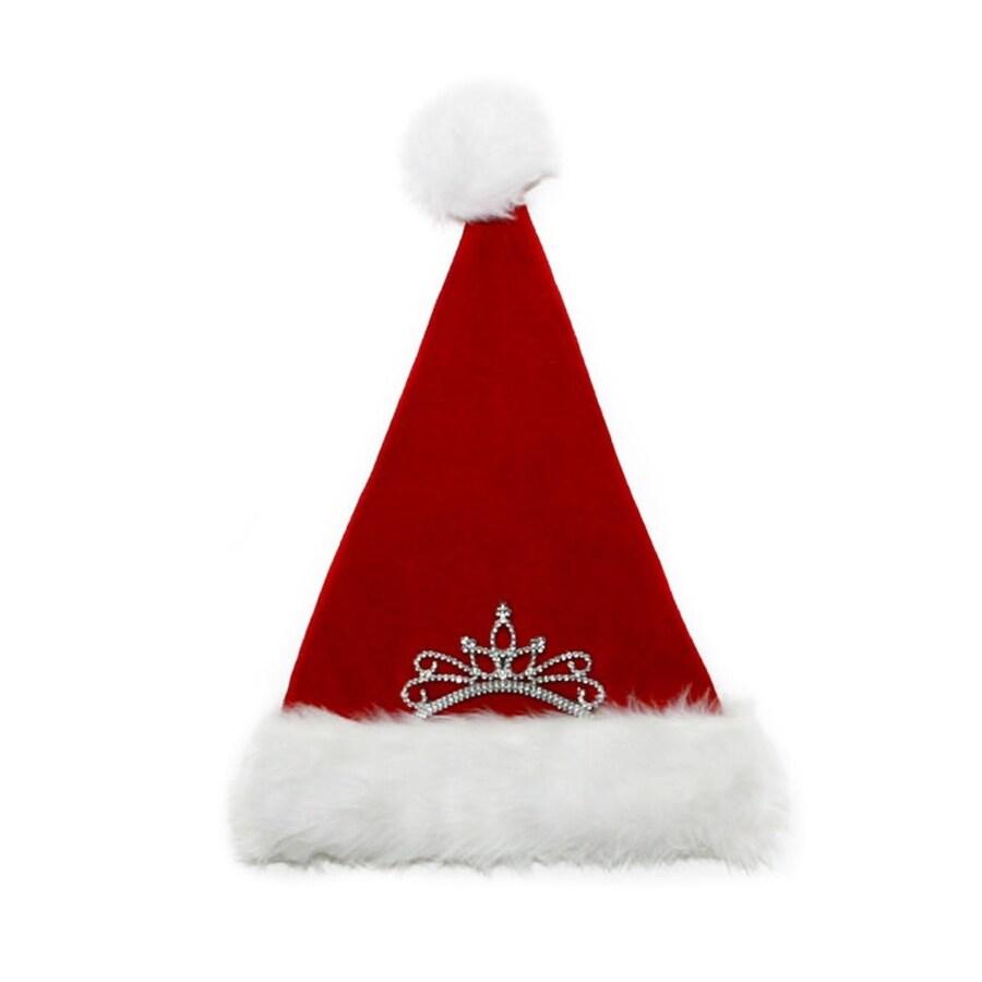 Holiday Living Assorted Christmas Velvet Plush Santa Hat