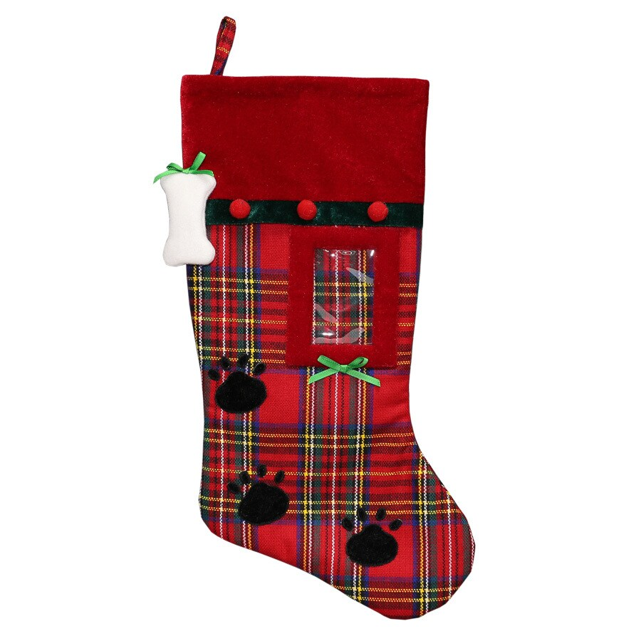 Holiday Living 19-in Pet Christmas Stocking