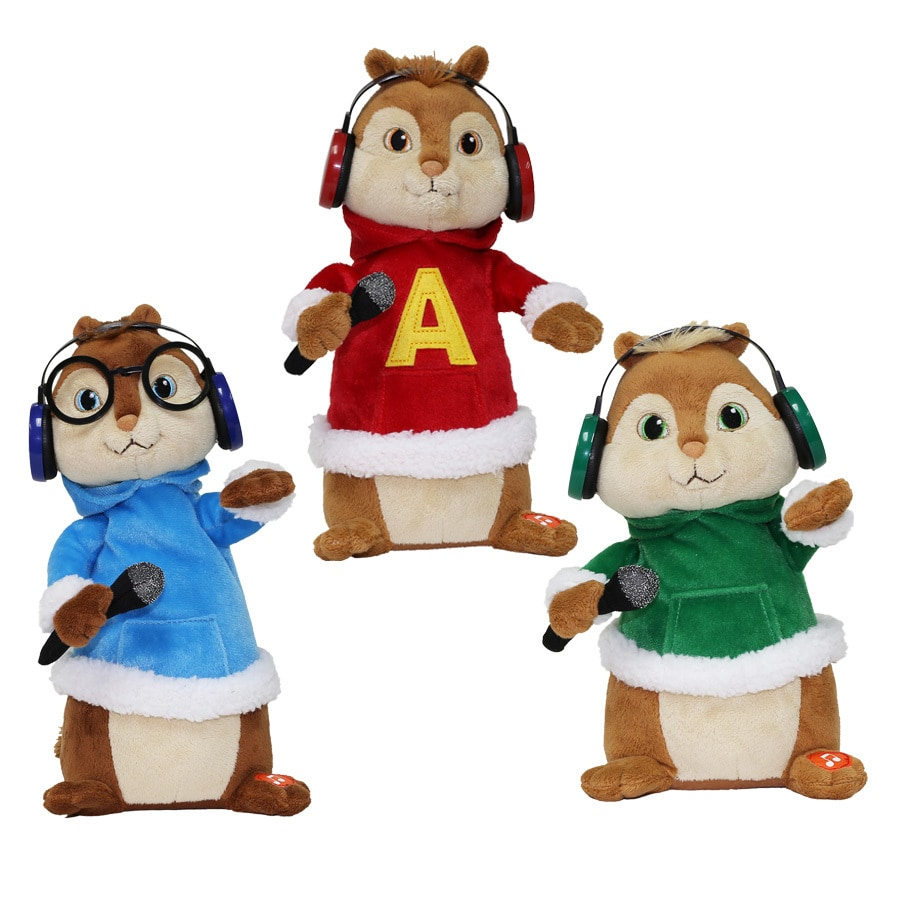 alvin and the chipmunks animatronic musical chipmunks - Alvin And The Chipmunks Christmas