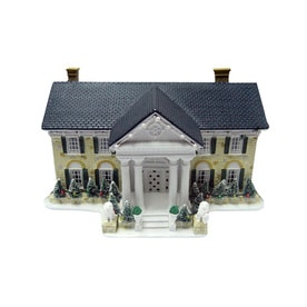 elvis musical christmas house with lights - Christmas Indoor Decorations Sale