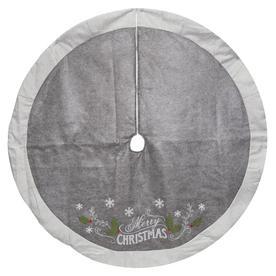 holiday living inches christmas tree skirt - Black Christmas Tree Skirt