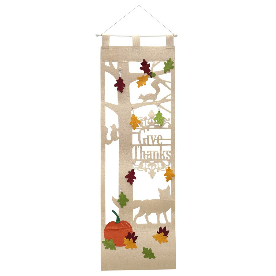 HARVEST Hanging Tree Door Hanger