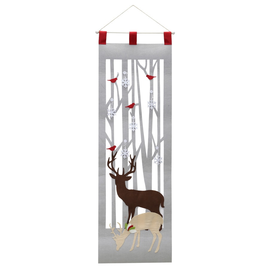 Holiday Living Polyester Hanging Door Hanger (Unlit) (Unlit) (Unlit) Lights