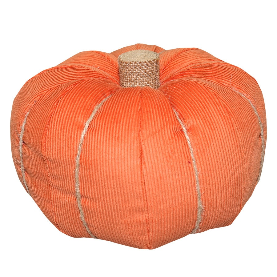 New Traditions Polyester Pumpkin Pillow Indoor Thanksgiving Decoration