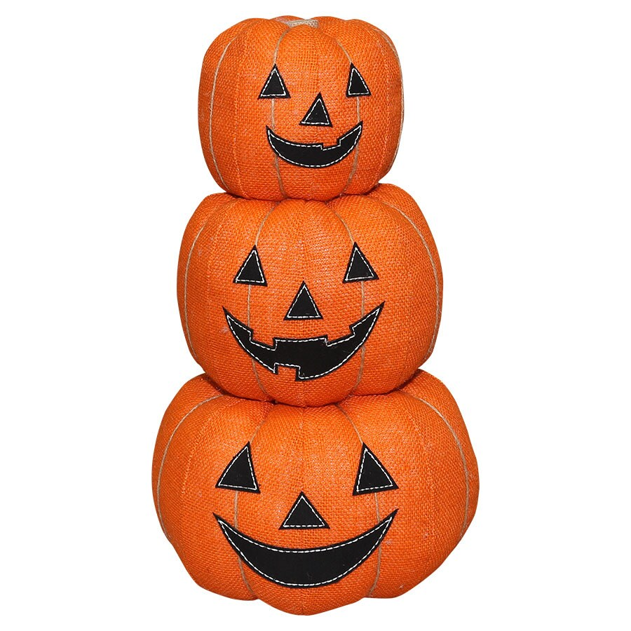 New Traditions Jack-o-lantern Pumpkin Stack