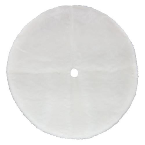 Lowes Christmas Tree Skirts: Holiday Living 56-in White Christmas Tree Skirt At Lowes.com