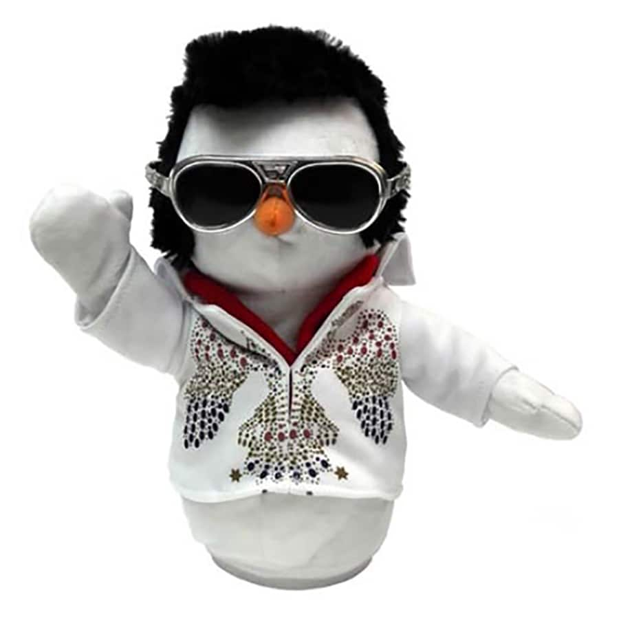Elvis Animatronic Musical Elvis Figurine At Lowes Com