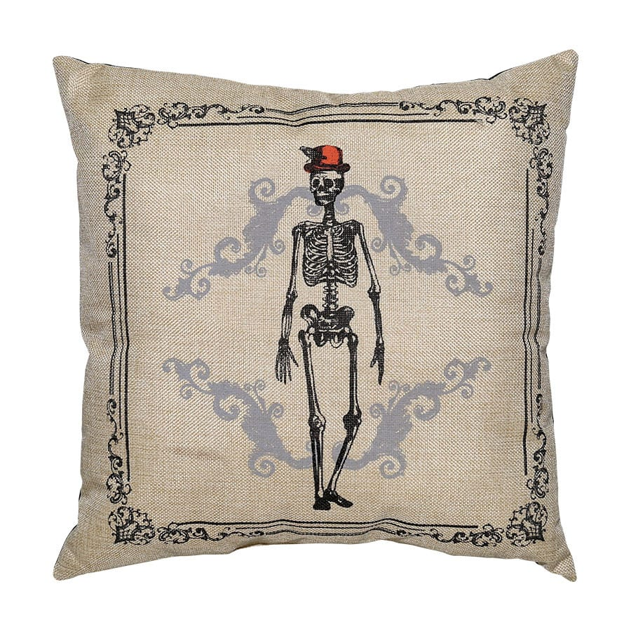 Shop New Traditions Skeleton Throw Pillow at Lowes.com