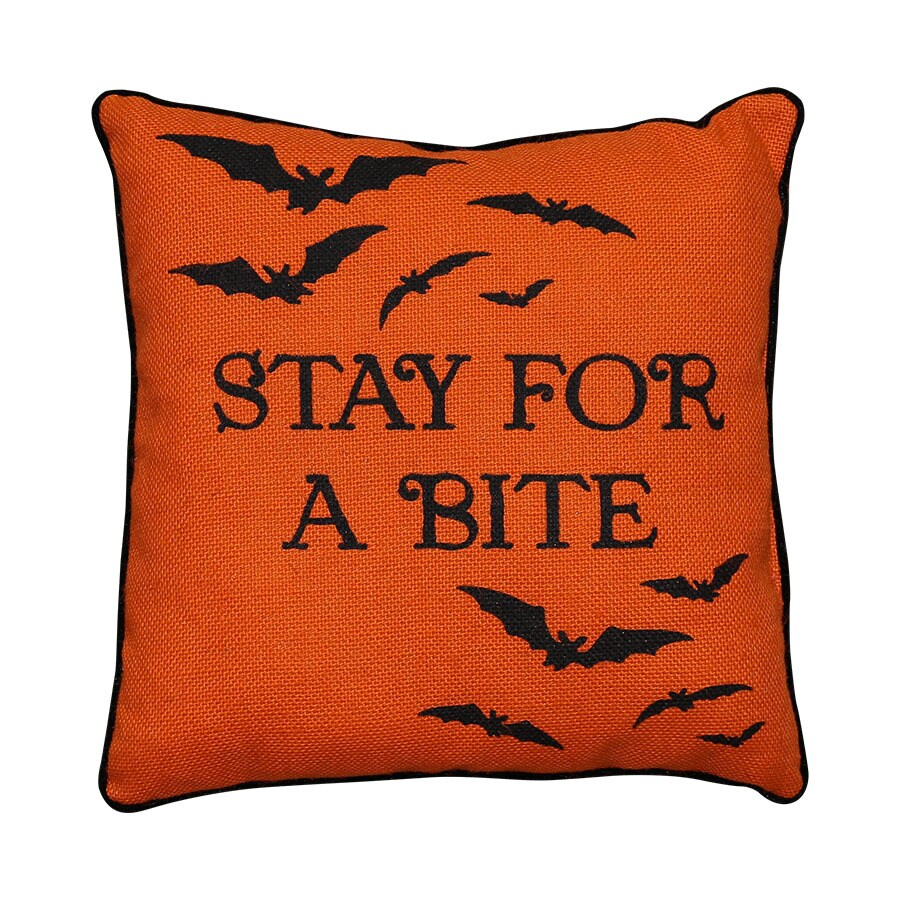 New Traditions Bat Throw Pillow