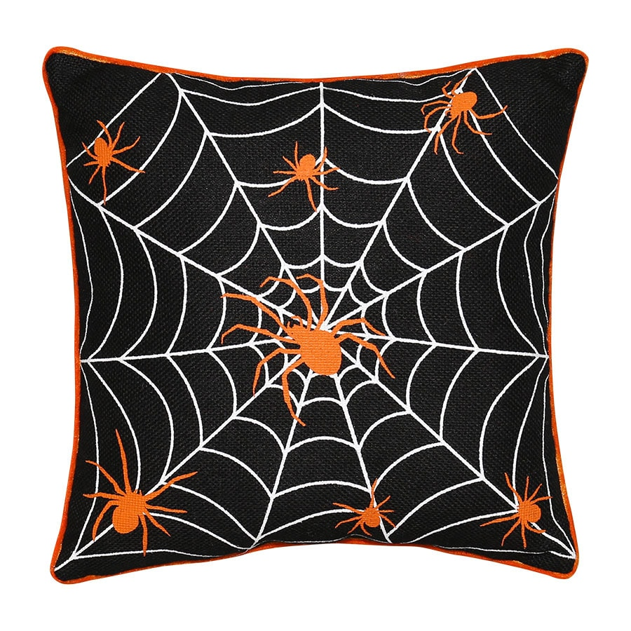 New Traditions Spider Throw Pillow