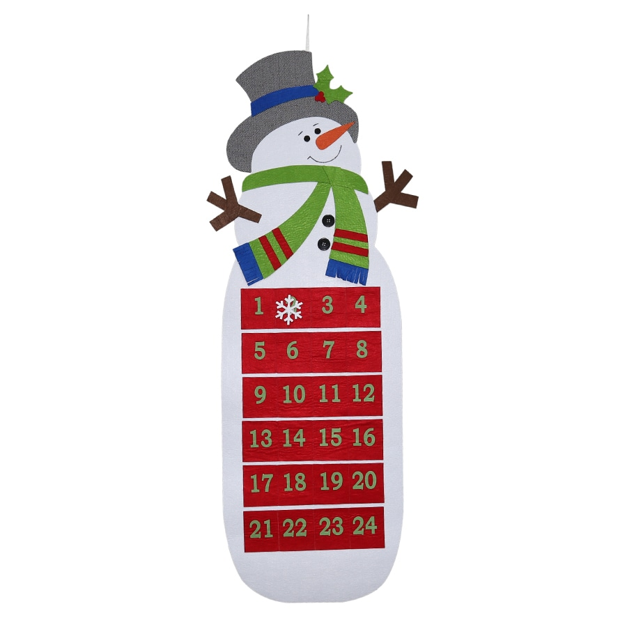 Holiday Living Snowman Door Hanger
