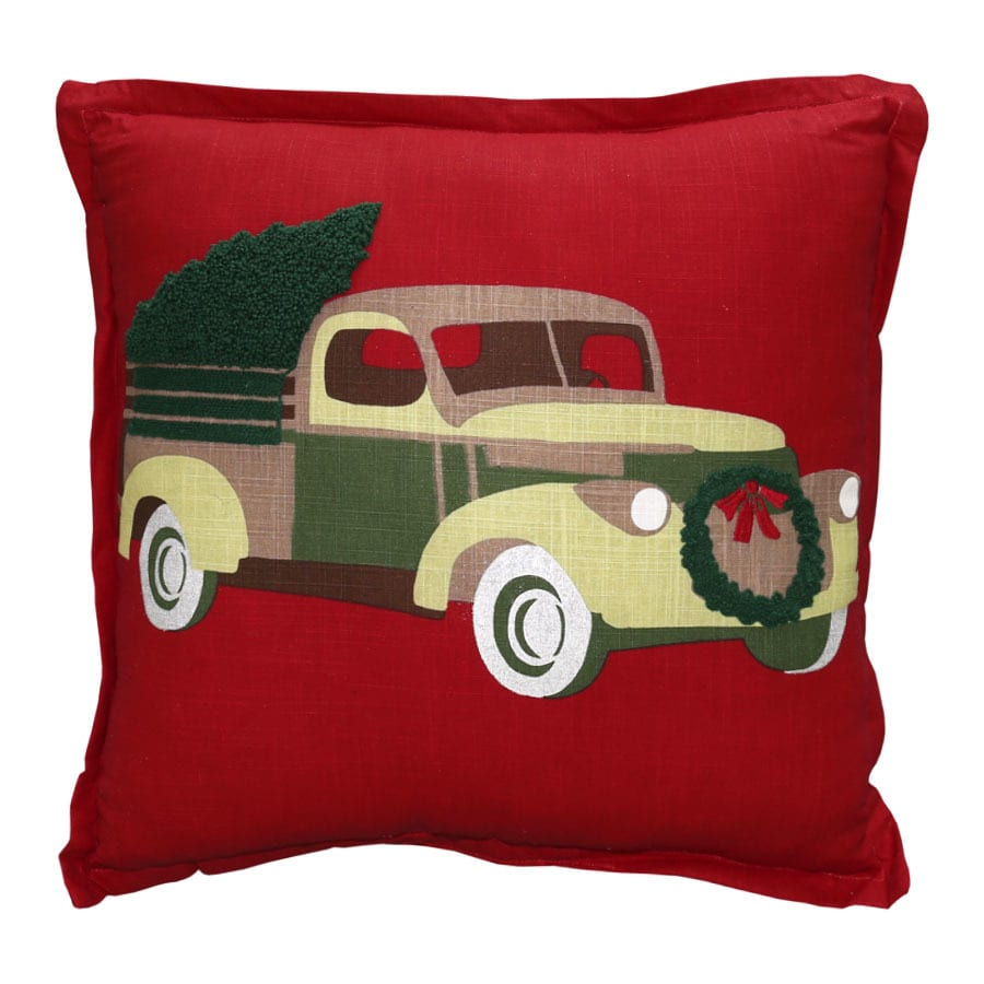 Holiday Living Truck Pillow