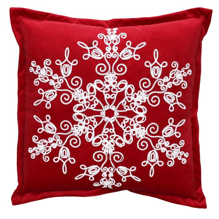 Holiday Living Snowflake Pillow