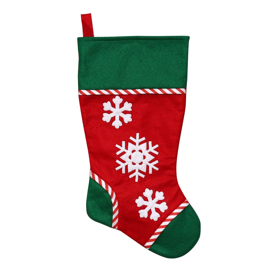Holiday Living 19-in Multiple Colors Plaid Christmas Stocking