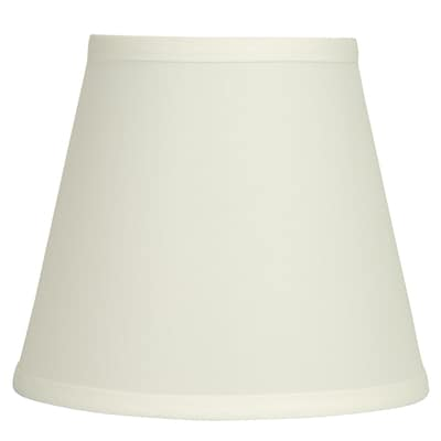 Design Trends 7 H Natual Linen Clip On Lamp Shade At Lowes Com