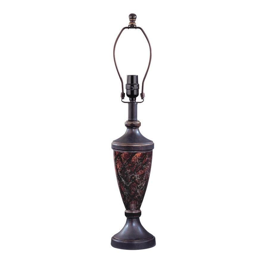 Portfolio 19-Inch Three-Way Bronze Lamp Base