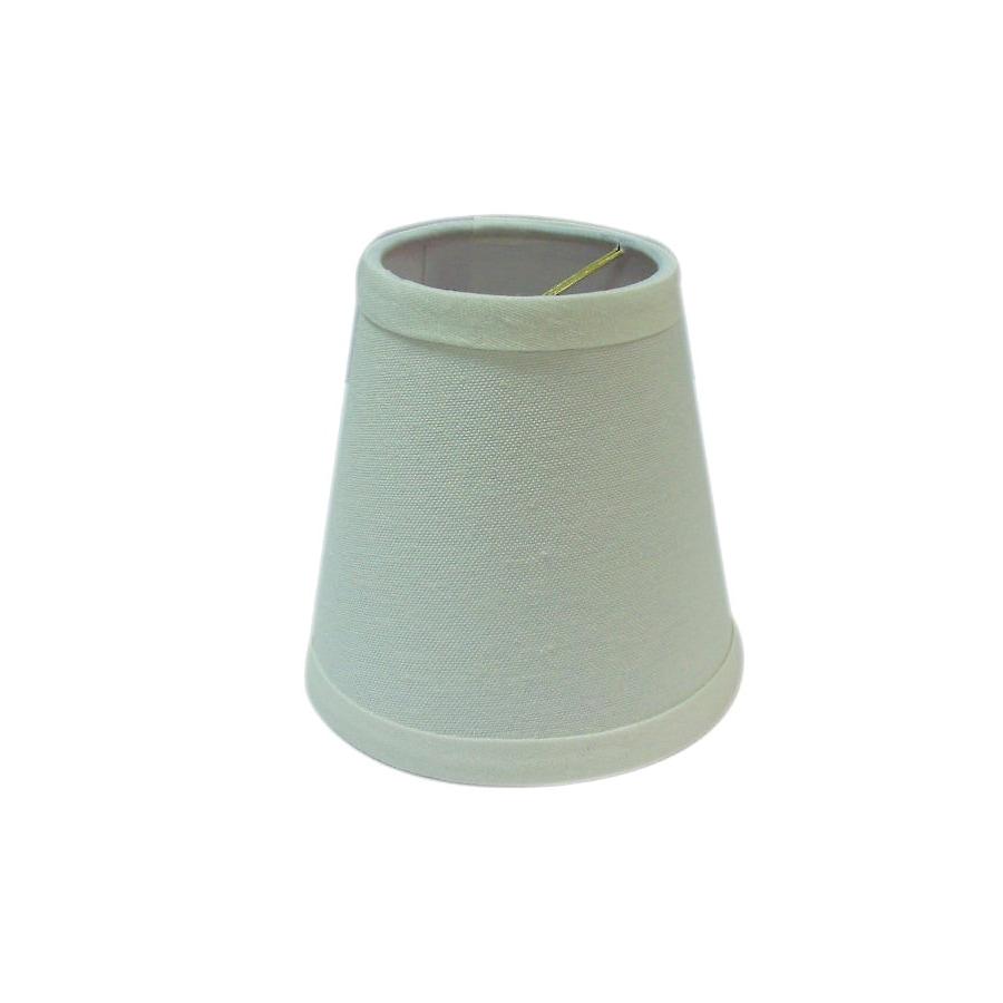 Portfolio 12-in x 6.2-in Light Natural Cream Chandelier Lamp Shade