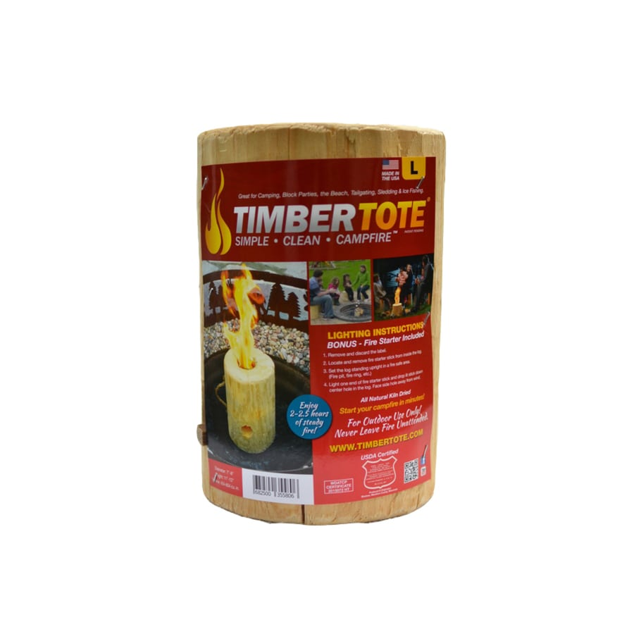 Shop Timber Tote 11-lb Fire Log at Lowes.com
