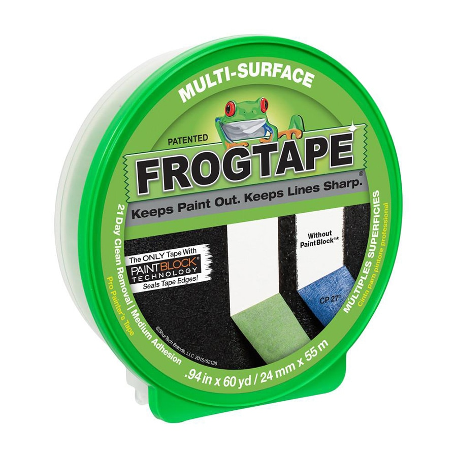 FrogTape 1-in x 180-ft Multi-Surface Painters Tape