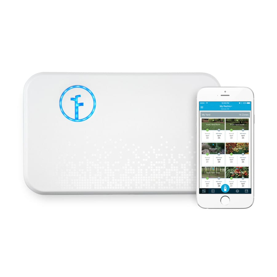 Rachio 8-Station Wi-Fi Compatibility Indoor Only Irrigation Timer