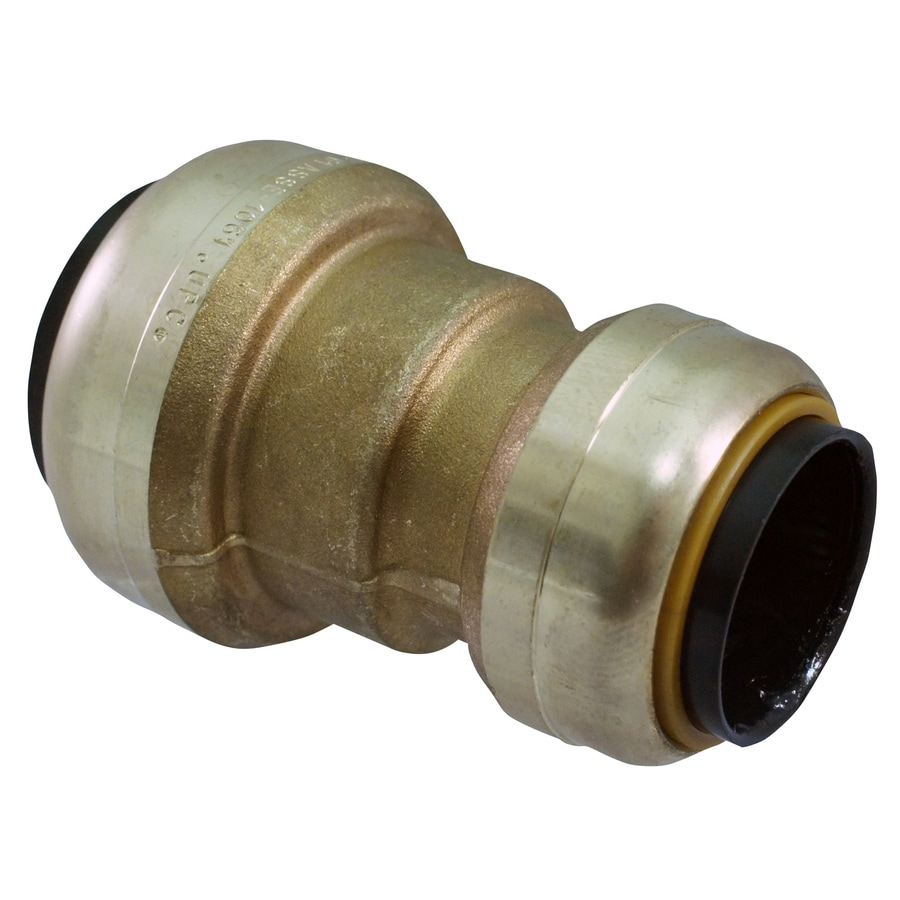 Blue Hawk Compression/Push x Compression/Push Reducing Coupling Push Fitting