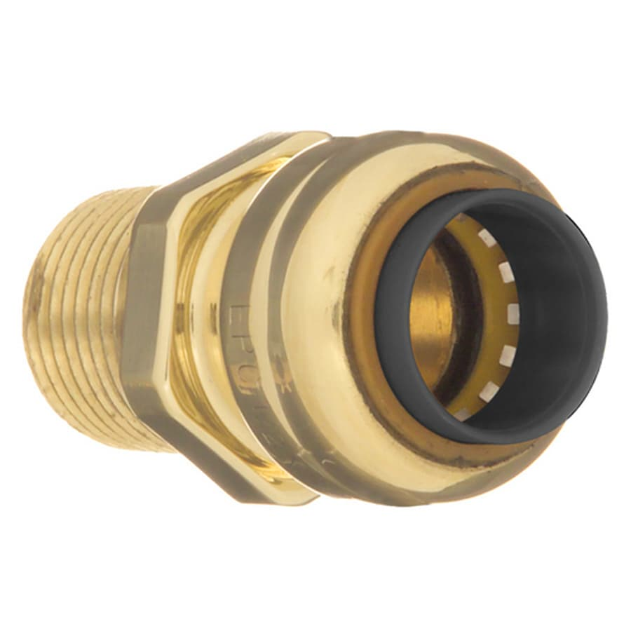 GatorBITE 1/2-in Dia. Copper Adapter Fitting