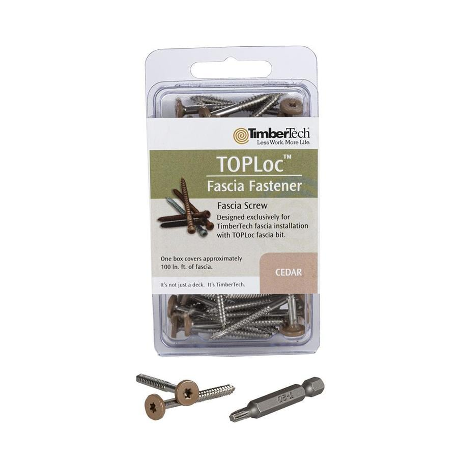TimberTech 300-Count #12 x 3-in Star-Drive Deck Screws