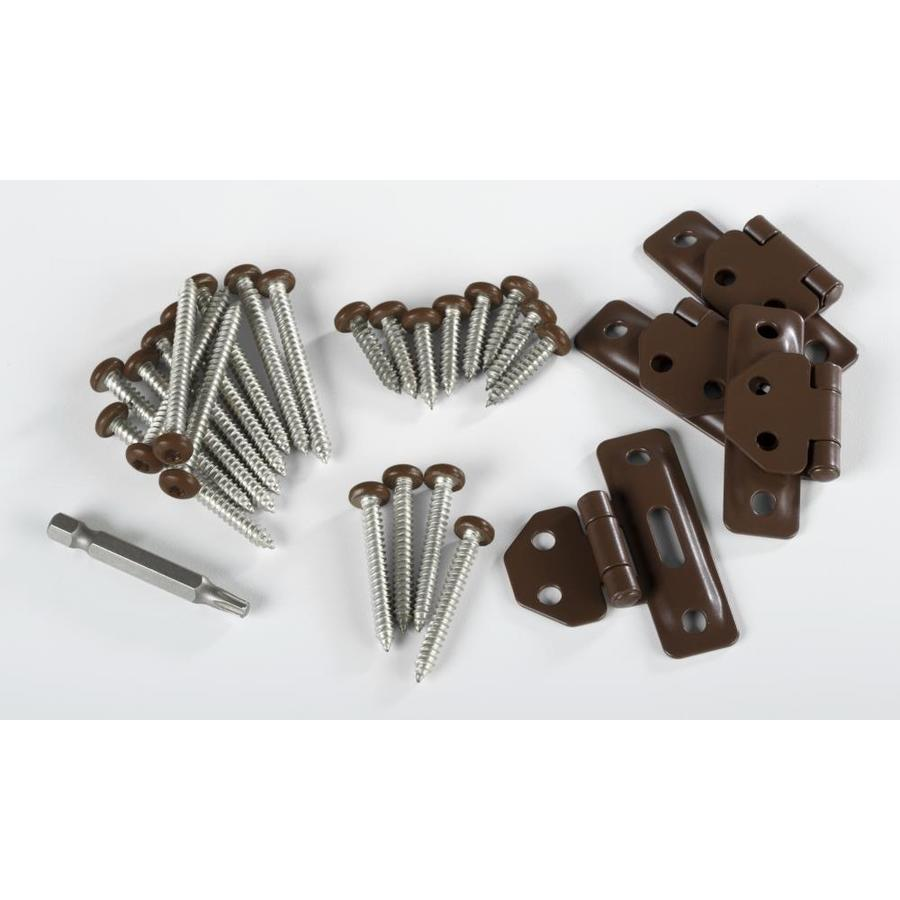 TimberTech Evolutions Rail Traditional Walnut Aluminum Post Connector