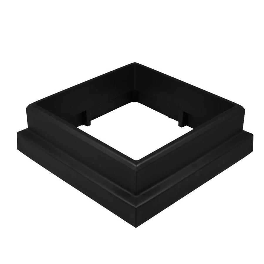 TimberTech Evolutions Rail Classic Black Composite Deck Post Skirt