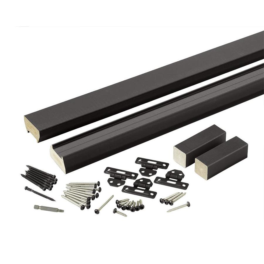 TimberTech (Assembled: 6-ft x 3-ft) Evolutions Rail Classic Black Composite Deck Railing Kit