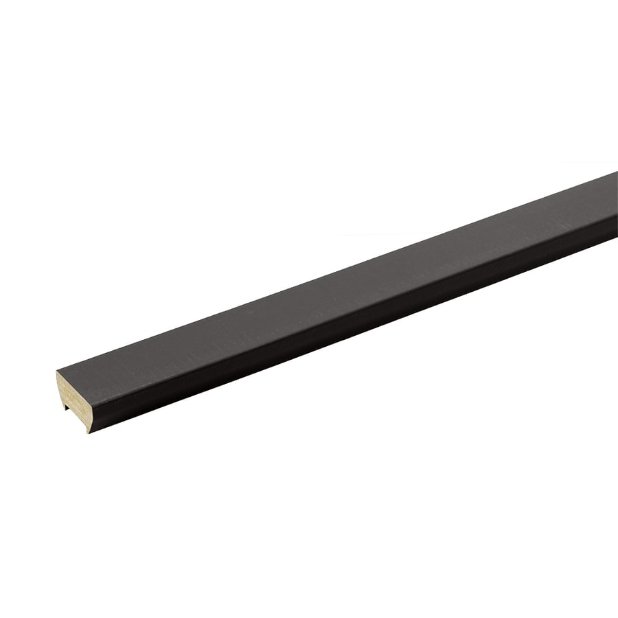 TimberTech Evolutions Rail Classic Black Composite Deck Top Rail (Common: 16-ft; Actual: 0.875-in x 6.35-in x 16-ft)